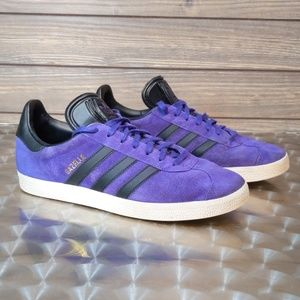 Adidas Gazelle Purple Sneakers
